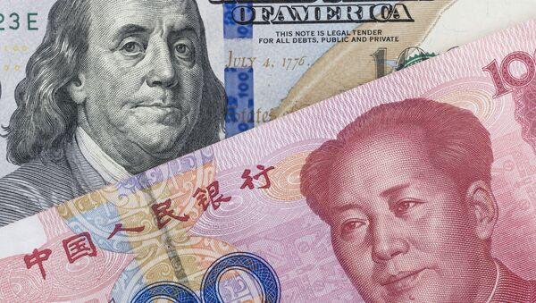 Národní měny USA a Číny - Sputnik Česká republika