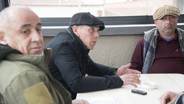 Tristan Citelašvili, Alexander Revazišvili a Koba Nergadze - Sputnik Česká republika