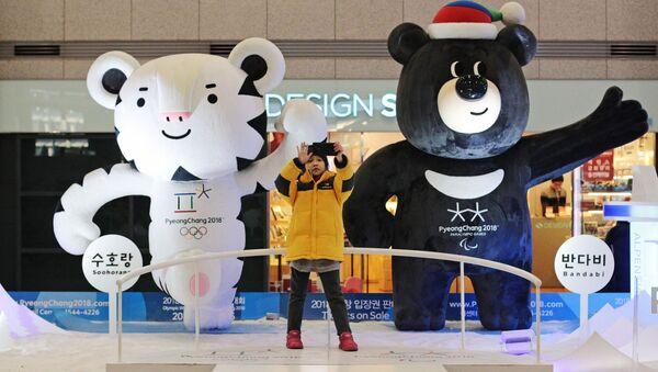 Maskoti Olympijských her v Jižní Koreji - Sputnik Česká republika