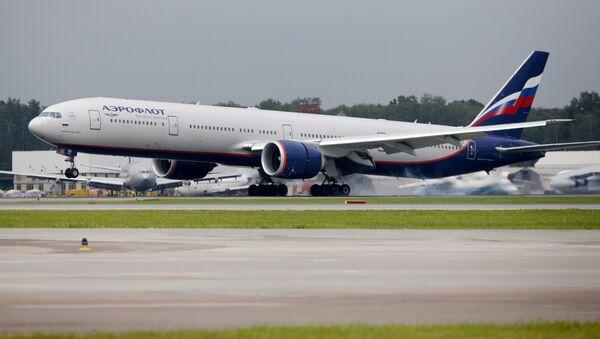 Boeing 777. Ilustrační foto - Sputnik Česká republika