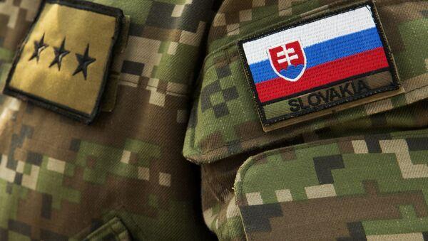 Slovenský voják. Ilustrační foto - Sputnik Česká republika