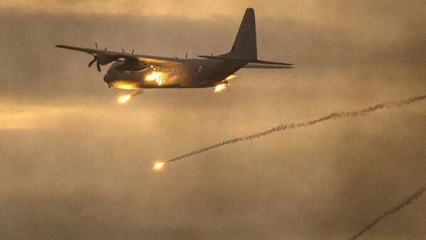 Izraelské letadlo C-130 Hercules - Sputnik Česká republika