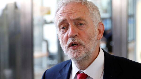 Jeremy Corbyn. Ilustrační foto - Sputnik Česká republika