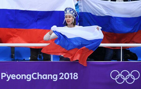 O nic horší než soutěž krásy: nejhezčí fanynky na tribunách Pchjongčchangu - Sputnik Česká republika