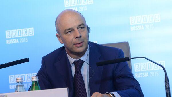 Ministr financí RF Anton Siluanov - Sputnik Česká republika