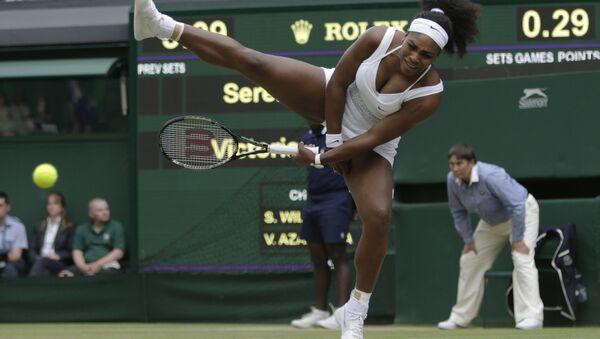 Americká tenistka Serena Williamsová. - Sputnik Česká republika