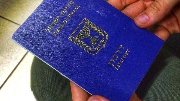 Izraelský pas - Sputnik Česká republika