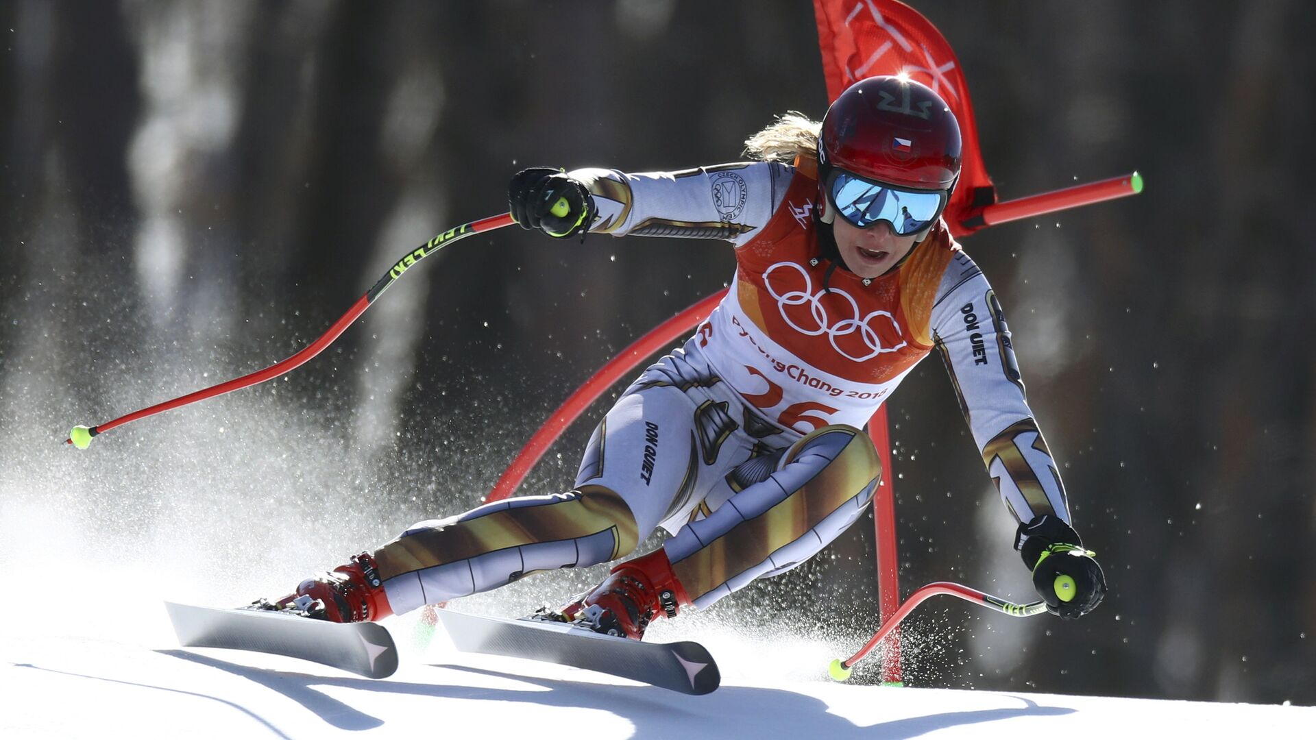 Česká snowboardista Ester Ledecká - Sputnik Česká republika, 1920, 01.03.2021