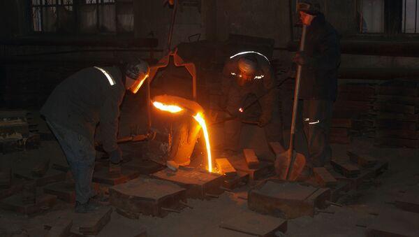 Výroba ocele - Sputnik Česká republika