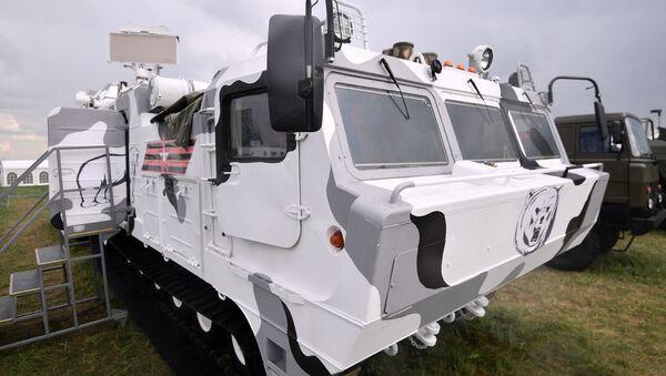 Protivzdušný systém Tor-M2DT - Sputnik Česká republika