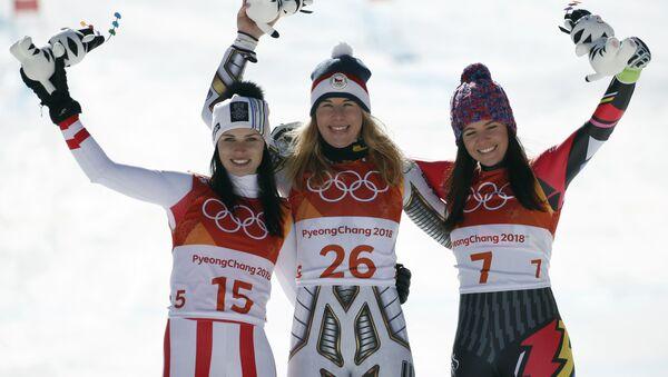 Stupně vítězů na Olympijských hrách v Jižní Koreji - Sputnik Česká republika