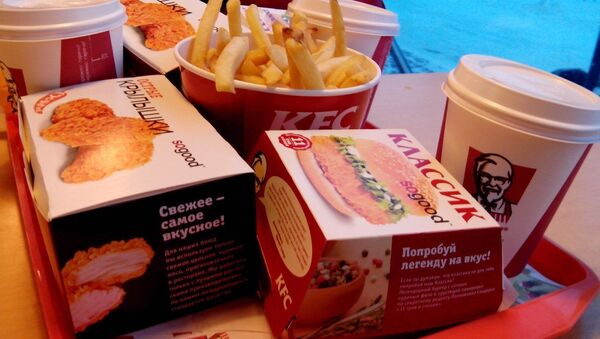 Fastfood KFC. Ilustrační foto - Sputnik Česká republika