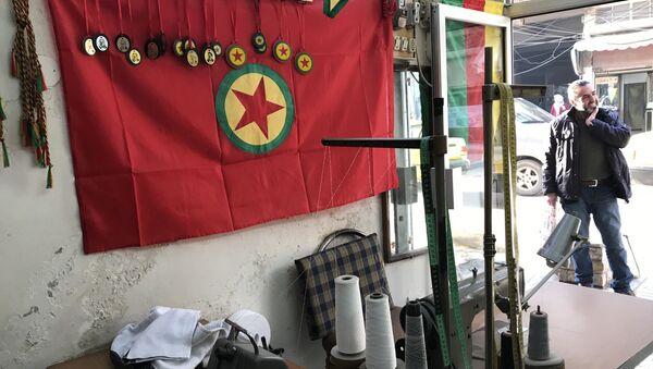 Symbolika YPG v Afrínu - Sputnik Česká republika