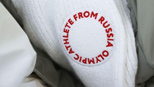 Logo Olympic Athlete from Russia - Sputnik Česká republika