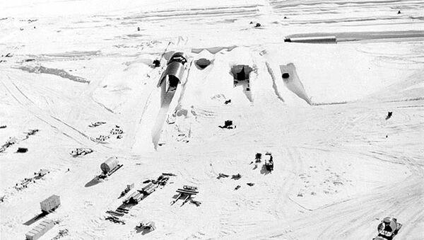 Americký projekt Iceworm na rozmístění sítě mobilních jaderných raketových odpalovacích ramp v Grónsku - Sputnik Česká republika
