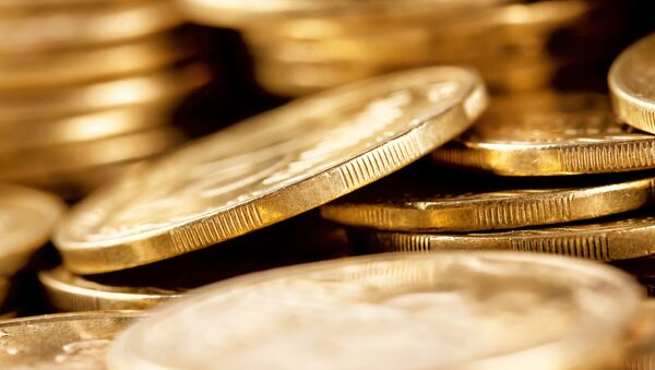 Zlaté mince - Sputnik Česká republika