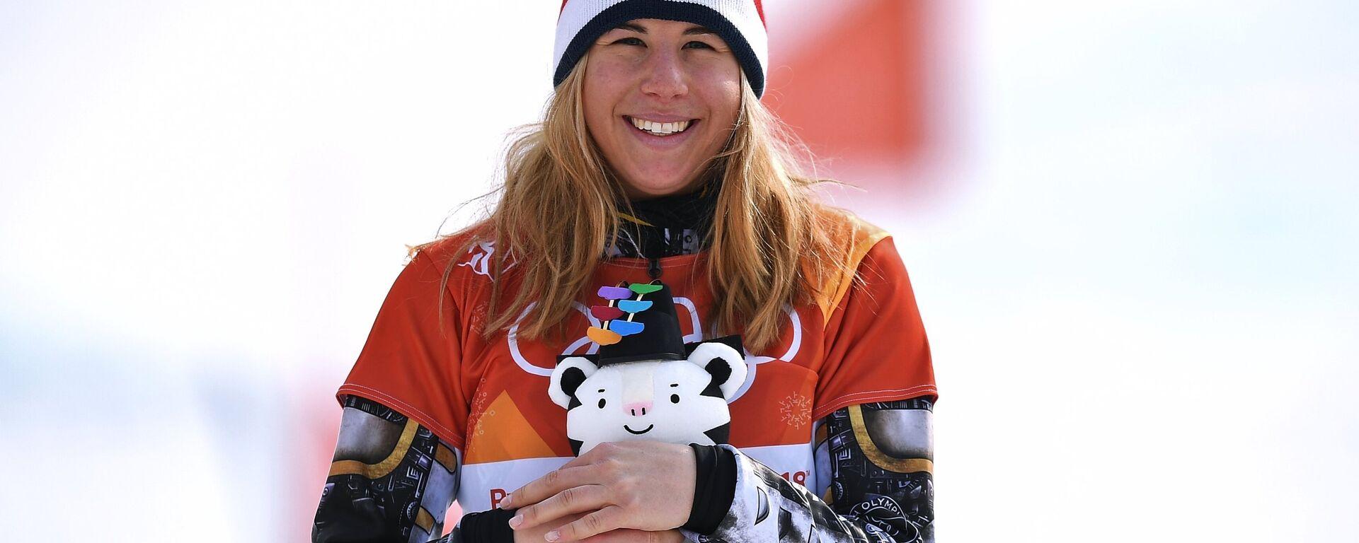 Snowboardistka Ester Ledecká - Sputnik Česká republika, 1920, 05.03.2021