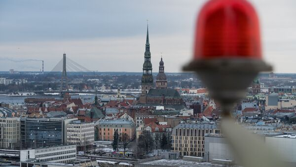Pohled na Rigu, hlavní město Lotyšska - Sputnik Česká republika