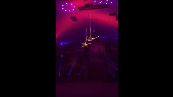 Akrobat se zřítil na cirkusovou arénu a dostal se do resuscitace - Sputnik Česká republika