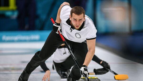 Ruský curlingista Alexandr Krušelnickij - Sputnik Česká republika