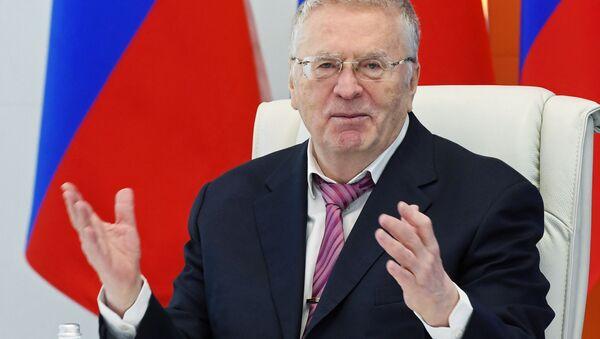 Kandidáti na prezidenta. Vladimir Žirinovskij - Sputnik Česká republika