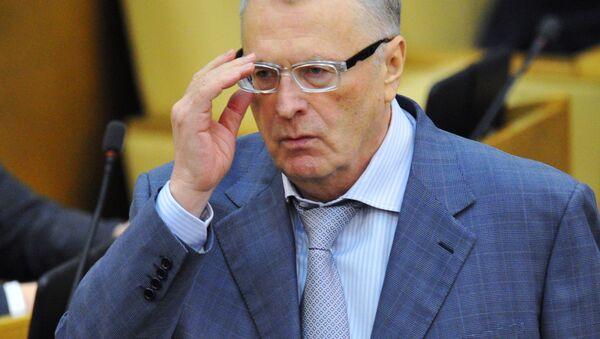 Kandidát na prezidenta Ruska Vladimir Žirinovskij - Sputnik Česká republika