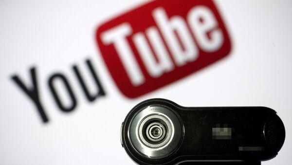 Logo YouTube, ilustrační foto - Sputnik Česká republika