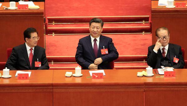 Prezident ČLR Si Ťin-pching ve Velkému sálu lidu - Sputnik Česká republika