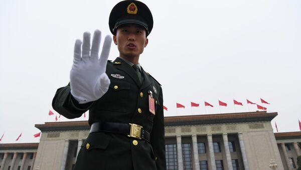 Čínský voják - Sputnik Česká republika