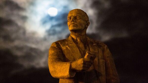 Leninův pomník (ilustrační foto) - Sputnik Česká republika