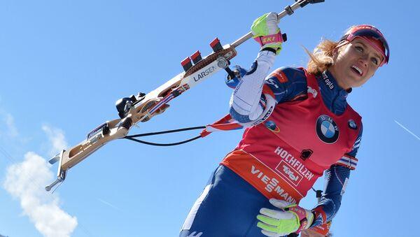 Česká biatlonistka Gabriela Koukalová - Sputnik Česká republika