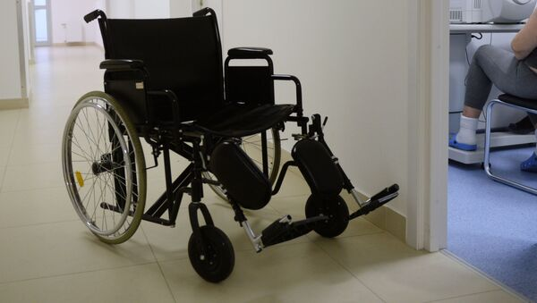Invalidní vozík - Sputnik Česká republika