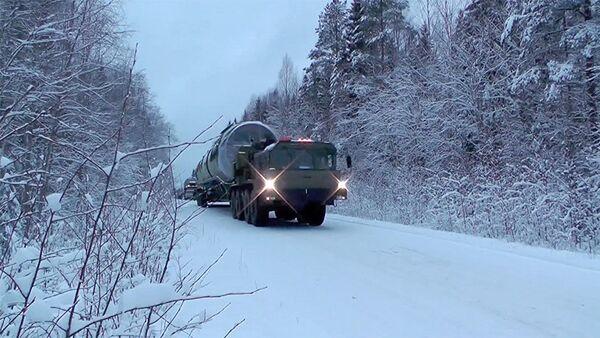Raketový komplex Sarmat - Sputnik Česká republika