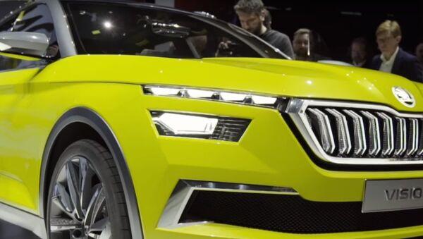V Ženevě Škoda Auto představila nový koncept Vision X a překvapila všechny - Sputnik Česká republika