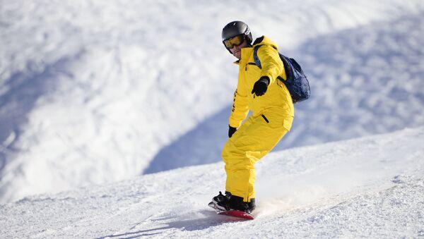 Snowboardista - Sputnik Česká republika