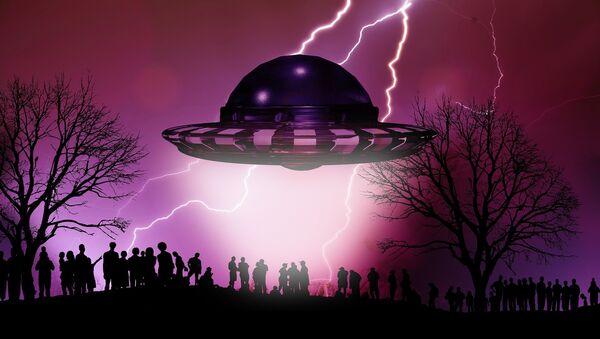 UFO. Ilustrační foto - Sputnik Česká republika