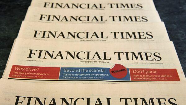 Financial Times - Sputnik Česká republika