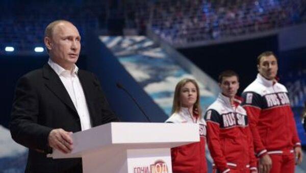 Prezident Vladimir Putin v Soči - Sputnik Česká republika