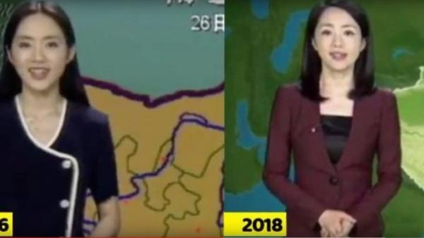 """""""Nestárnoucí bohyně"""": Číňanka už 22 let hlásí předpověď počasí a za tu dobu se vůbec nezměnila - Sputnik Česká republika"""
