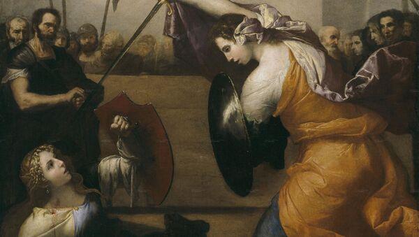 Obraz José de Ribera Ženská duel - Sputnik Česká republika