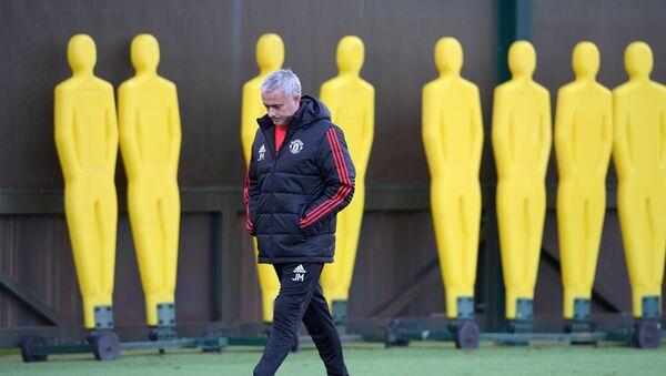 Trenér José Mourinho - Sputnik Česká republika