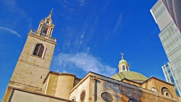 Kostel Sv. Štěpána ve Walbrook, Londýn - Sputnik Česká republika