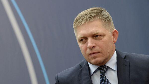 Předseda strany Smer-SD Robert Fico - Sputnik Česká republika