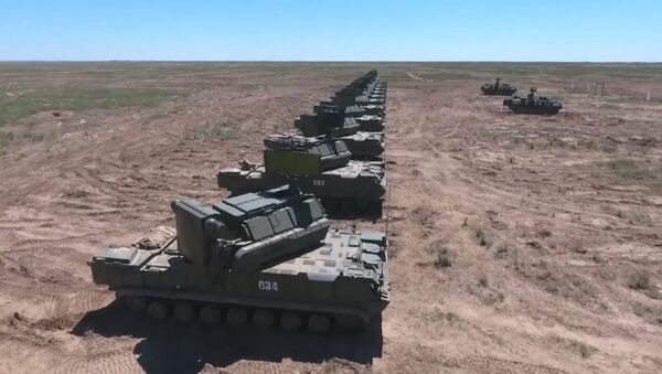 Cvičení ruské protivzdušné obrany - Sputnik Česká republika