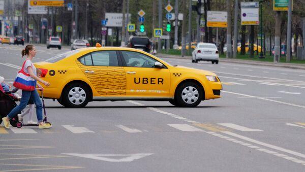 Taxi Uber - Sputnik Česká republika