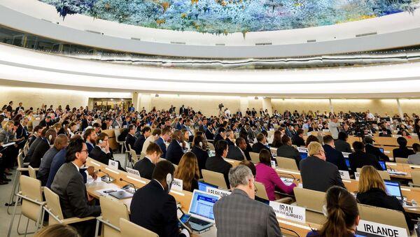 Rada OSN pro lidská práva v Ženevě - Sputnik Česká republika