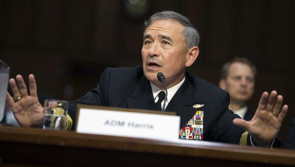 Командующий ВС США в Тихом океане адмирал Гарри Харрис - Sputnik Česká republika