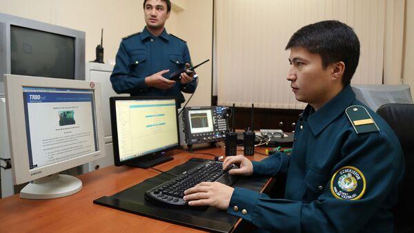 Uzbečtí policisté - Sputnik Česká republika