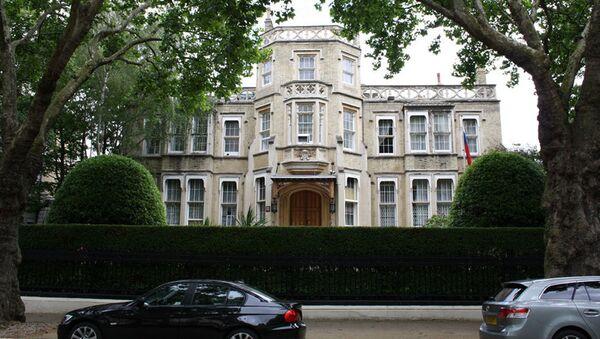 Rusé velvyslanectví v Londýně. - Sputnik Česká republika