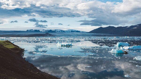 Tající led v Islandu - Sputnik Česká republika